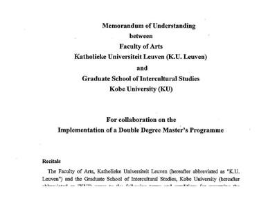 thesis japanologie leuven